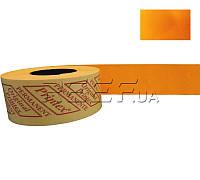 Printex Этикет-лента 26x16 прямоугольная оранжевая Printex, фото 1