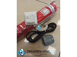 Двужильный нагревательный мат монтаж в слой кафельного клея FLEX EHM - 8 м.кв (1400 вт ) Серия RTC 70.26