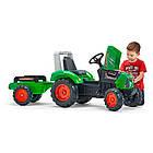 Детский педальный трактор с прицепом Falk 2021AB для детей, фото 3