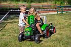Дитячий педальний трактор з причепом Falk 2021AB для дітей, фото 4