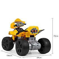 Детский квадроцикл Bambi желтый ZP 5118, фото 2