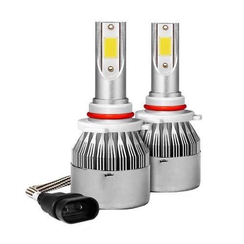 Лампы светодиодные автомобильные C6 9005 12В 72Вт 7600лм