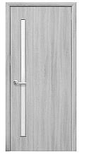 Глория Ясень Патина (60, 70, 80, 90см). Коллекция Квадра. Межкомнатные двери МДФ Новый Стиль
