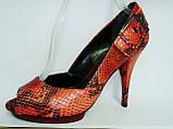Туфли женские на высоком каблуке 11026501, фото 2
