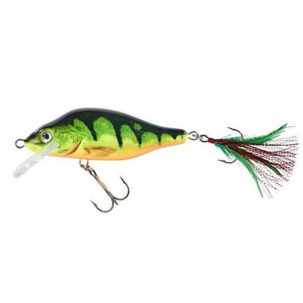 Воблер Balzer MK Adventure Predator Snack  Perch Yellow FL 9см. 14гр.