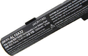 Оригинальная батарея для ноутбука Acer Aspire V3-574 V3-574G V3-575 V3-575G V3-575T - AL15A32 - АКБ, фото 2