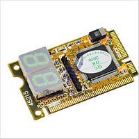 POST карта диагностическая карта для ноутбуков mini PCI PCI-E LPC двухсегментная