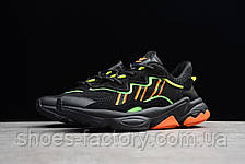 Мужские кроссовки в стиле Adidas Ozweego Adiprene, Black, фото 2