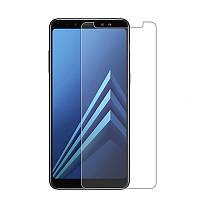 Захисне скло з олеофобним покриттям Ultra 0.33 mm для телефону Samsung A730 Galaxy A8+ (2018)