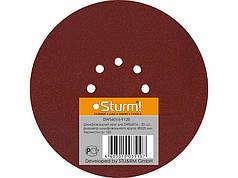 Шлифбумага круглая 225мм, зерно 120, 20шт Sturm DWS6016-9120