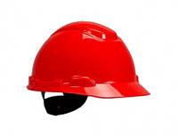 Каска 3М H-701N-RD, храповик, без вентиляции Красный