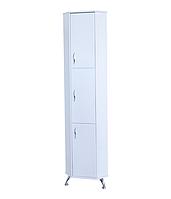 Пенал угловой для ванной комнаты Базис 35-06 правый ПИК
