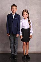 Школьная блузка для девочки Школьная форма для девочек ПромАтельеСервис Украины Эмили