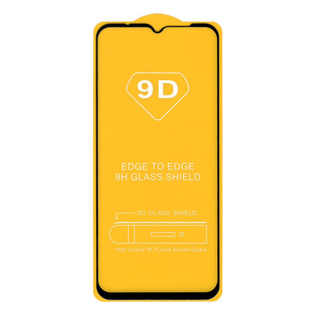 Защитное стекло для Xiaomi Redmi 9A, full glue, черное