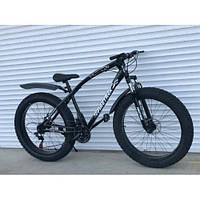 Спортивный велосипед фетбайк topRider-215 черный, фэтбайк