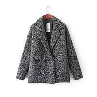 Двубортное шерстяное пальто, фото 1