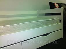 Кровать Нота Эстелла (90*200) (Бук/Масив) (с доставкой), фото 3