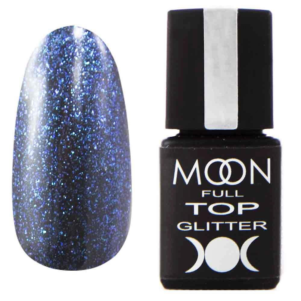 Moon Full Top Glitter №4 (с глиттерными частичками) 8мл