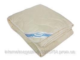 Одеяло Leleka-Textile Деми хлопок Двуспальный 172х205 см Бежевый (1005507)