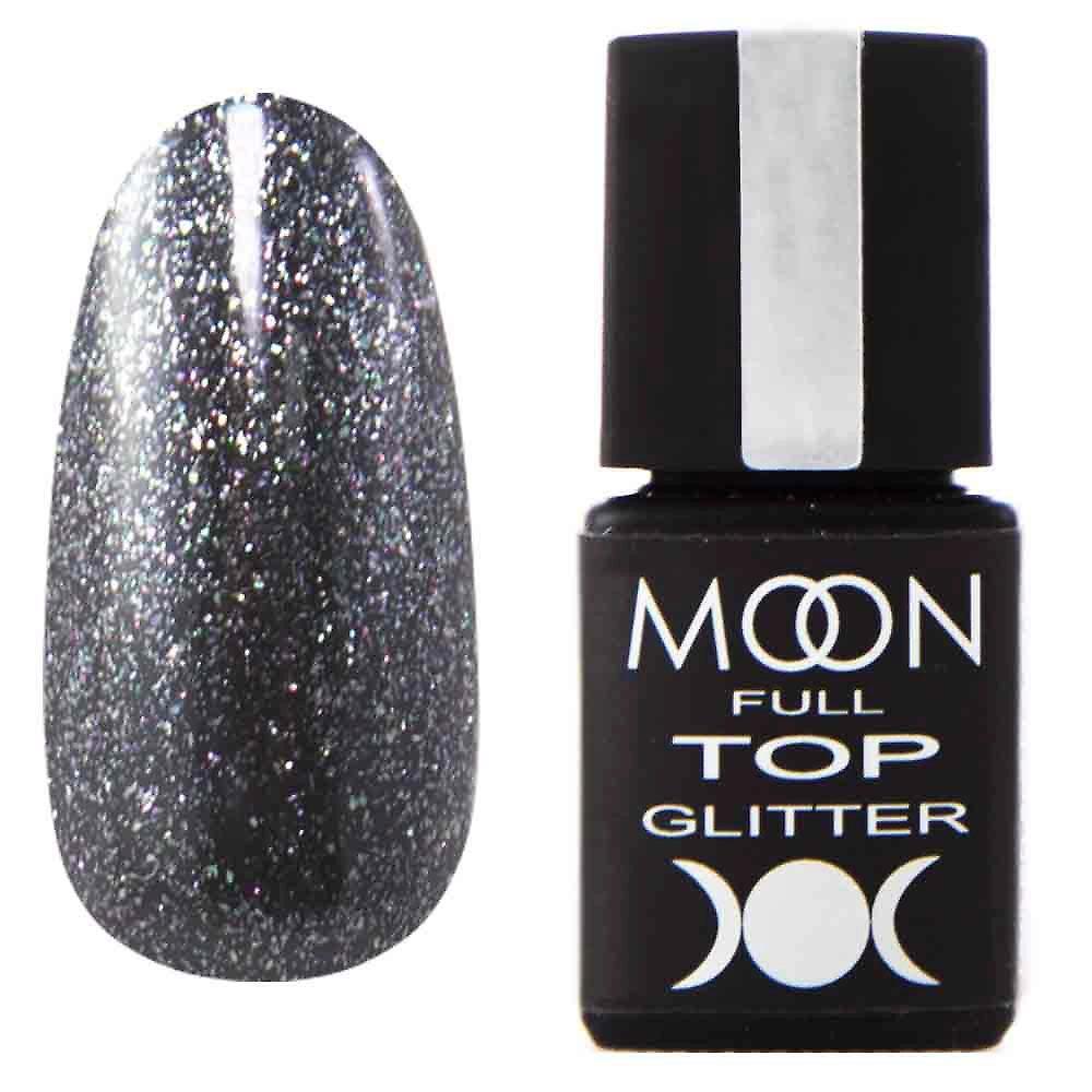 Moon Full Top Glitter №3 (с глиттерными частичками) 8мл