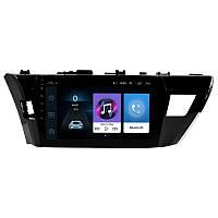 """Штатная автомобильная 10"""" магнитола Toyota Corolla (2014-2017 г.в.) память 1/16 GPS Wi Fi Android 8.1 Go (4782-14721)"""