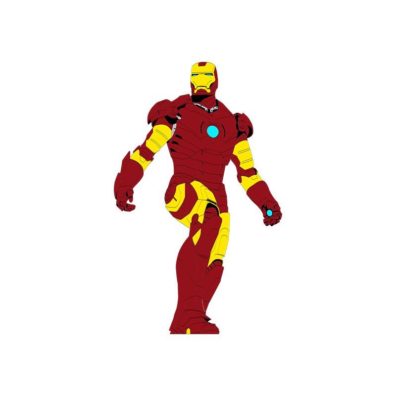 """Наліпка """"Ironman"""" / Виниловая наклейка """"Ironman"""""""