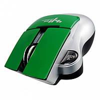 Беспроводная оптическая мышь ZHANPENG ZP018 мышка Зелёная
