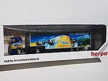 Herpa масштабна модель вантажного автомобіля DAF 95 в подарунковій упаковці, масштабу 1/87, H0