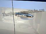 Хром накладки на ручки Toyota Prius 2009- Autoclover (B893), фото 6