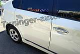 Хром накладки на ручки Toyota Prius 2009- Autoclover (B893), фото 3