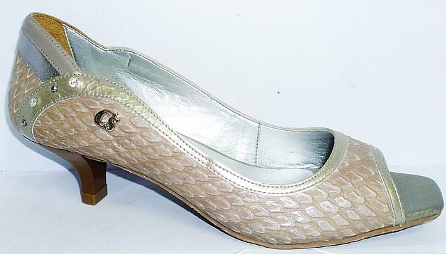 женские кожаные туфли недорого 4004