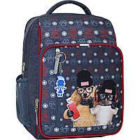 Рюкзак шкільний Bagland Школяр 8л (128 321 сірий 188 К), фото 1