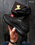 Мужские кроссовки Under Armour Hovr (черные) Рефлективные KS 1512, фото 4