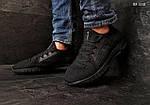 Мужские кроссовки Under Armour Hovr (черные) Рефлективные KS 1512, фото 6