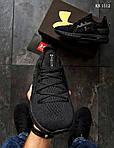 Мужские кроссовки Under Armour Hovr (черные) Рефлективные KS 1512, фото 7