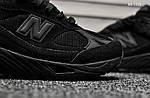 Мужские кроссовки New Balance 991 (черные) KS 1515, фото 2
