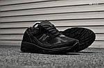 Мужские кроссовки New Balance 991 (черные) KS 1515, фото 6
