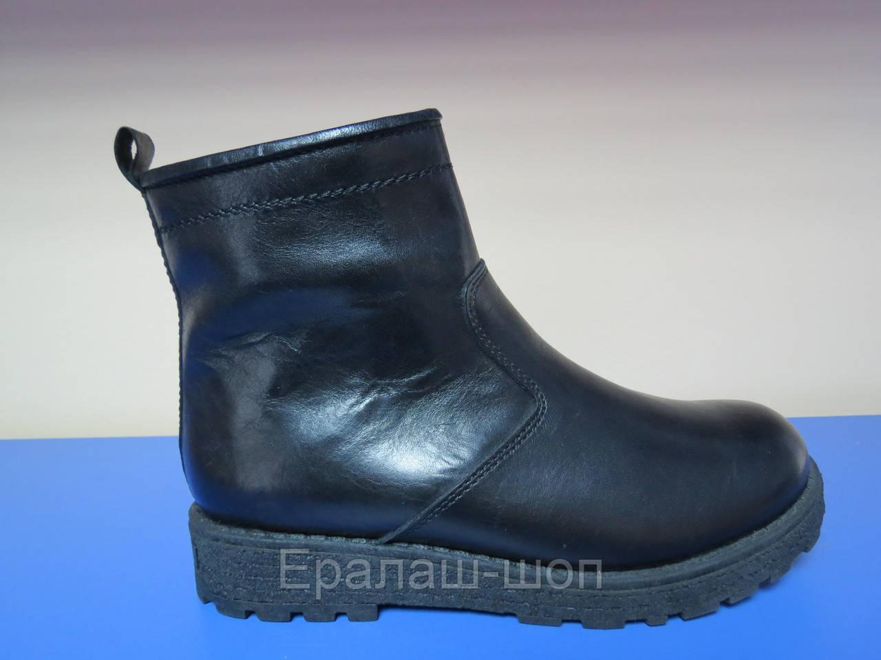 4838c98b9 Распродажа!Зимние кожаные сапоги/ботинки для мальчика 30р (19.5см стелька) -