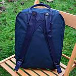 Спортивный рюкзак Kanken Fjall Raven 16L Dark Blue Рефлектив (темно-синий) - Унисекс 467KN, фото 4