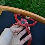 Спортивний рюкзак Kanken Fjall Raven 16L Dark Blue/Red Рефлектив (синьо-червоний) - Унісекс 470KN, фото 2