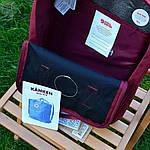 Спортивний рюкзак Kanken Fjall Raven 16L Dark Blue/Red Рефлектив (синьо-червоний) - Унісекс 470KN, фото 3