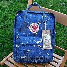 Спортивний рюкзак Kanken Fjall Raven 16L Blue Fable Рефлектив (синій) - Унісекс 332KN