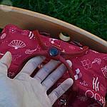 Спортивный рюкзак Kanken Fjall Raven 16L Fu man totem Рефлектив (малиновый) - Унисекс 337KN, фото 2