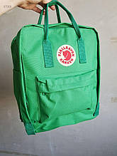 Спортивний рюкзак Kanken Fjall Raven 16L Green Рефлектив (зелений) - Унісекс 475KN