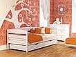 Ліжко Нота Плюс (90*200) (Бук/Масив) (з доставкою), фото 4
