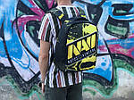 Городской рюкзак Антивор Natus Vincere (черно-желтый) 1274, фото 2
