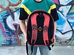 Городской рюкзак Антивор Футбол АМКАЛ (разноцветный) 1277, фото 3