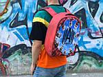 Городской рюкзак Антивор Футбол АМКАЛ (разноцветный) 1277, фото 4