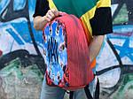 Городской рюкзак Антивор Футбол АМКАЛ (разноцветный) 1277, фото 5