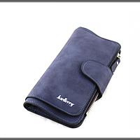 Женский кошелек клатч портмоне Baellerry Forever N2345 тёмно-синий